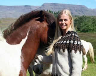 Le lopapeysa, le pull islandais