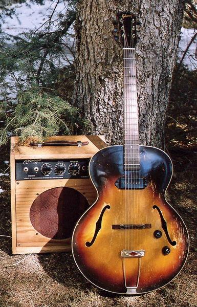 canadian vintage guitar hunt 1956 gibson es 125 archtop guitar. Black Bedroom Furniture Sets. Home Design Ideas