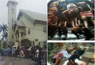 More Than 10 Worshippers Dead As Un Identified Gun Men Invade Catholic Church In Anambra 9