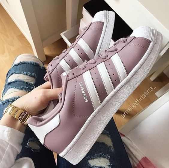 girly adidas shoes