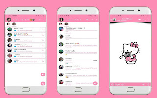 Hello Kitty 2 Theme For YOWhatsApp & Fouad WhatsApp By Leidiane