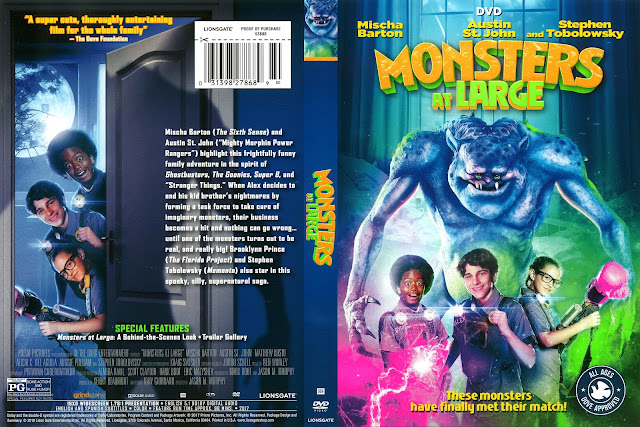 Monsters at Large DVD Cover