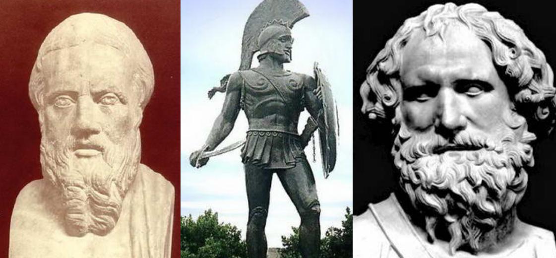 Tokoh Dari Yunani Paling Berpengaruh Di Dunia, Daftar Tokoh Dari Yunani Kuno