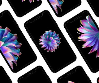 FLOWER AESTHETIC AMOLED WALLPAPER