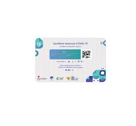 Cetak Sertifikat Vaksin/Kartu Vaksin Covid-19 Bahan PVC untuk Keluarga/Kantor/Perusahaan/Club  <del>Rp 15.000</del> <price>Rp 10.000</price> <code>IDC00021</code>