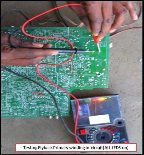 electronics repair made easy: Do it yourself Flyback Tester
