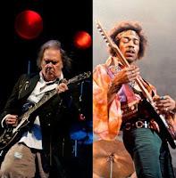 Neil Young & Jimi Hendrix
