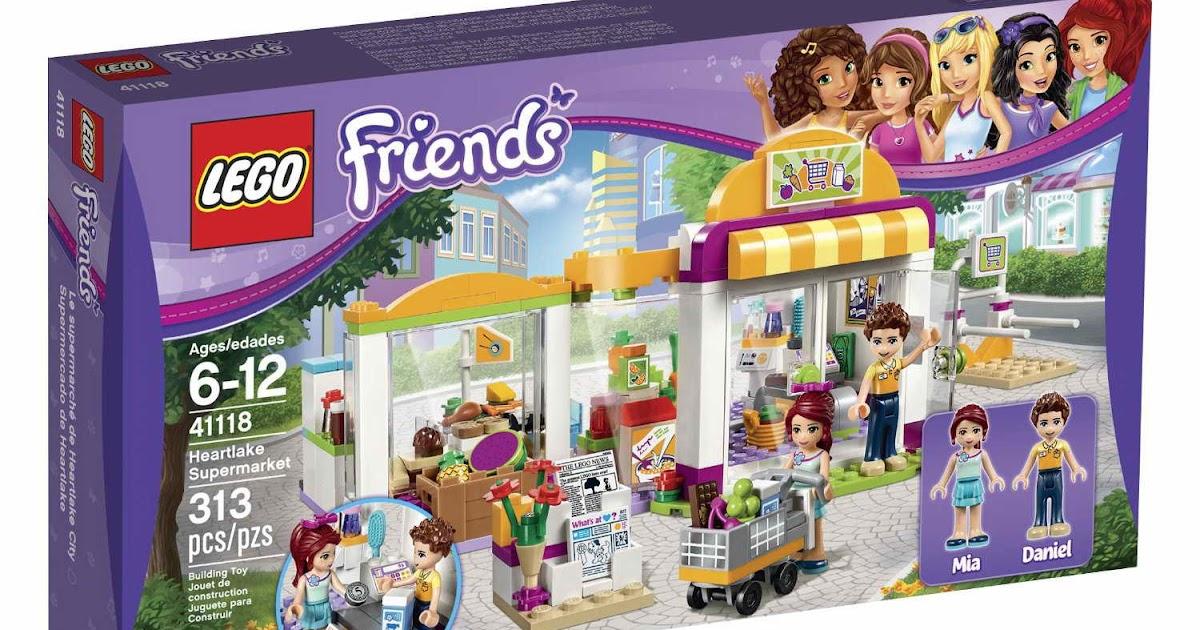 Heartlake 41118 Brick FriendsLego FriendsLego 41118 Supermarket Brick Heartlake R5q4cAjL3