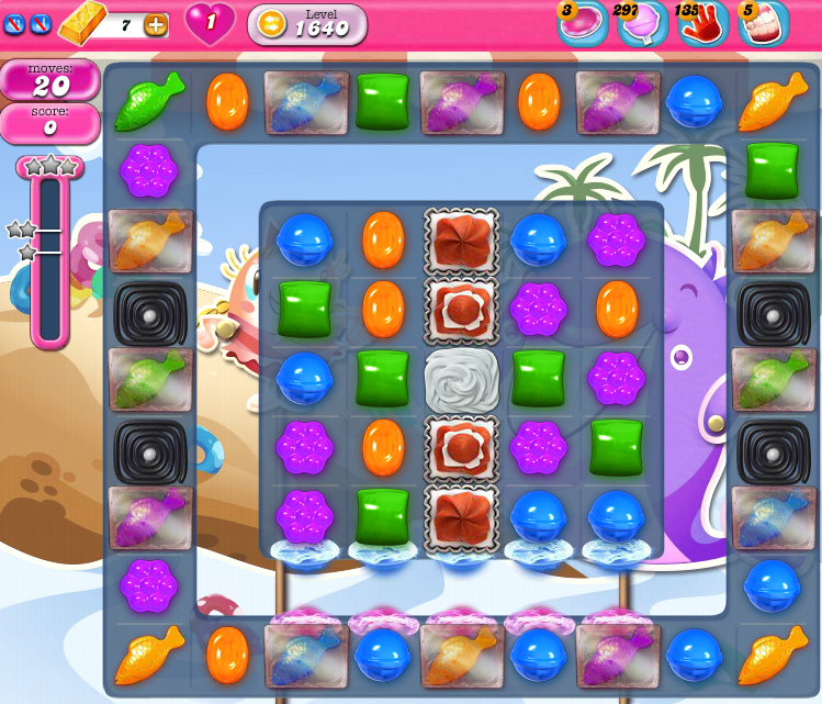 Candy Crush Saga 1640