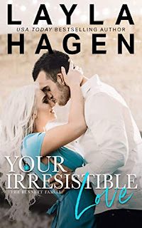 Your Irresistible Love - a flirty and steamy contemporary romance free book promotion Layla Hagen