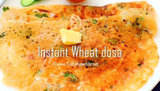 atta dosa recipe