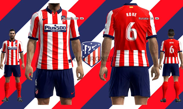 Pes 2013 Atletico Madrid 20 21 Home Kits Kazemario Evolution