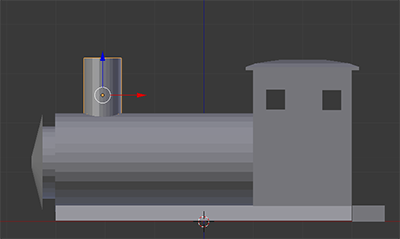 Adding a Smokestack to the Engine Cylinder