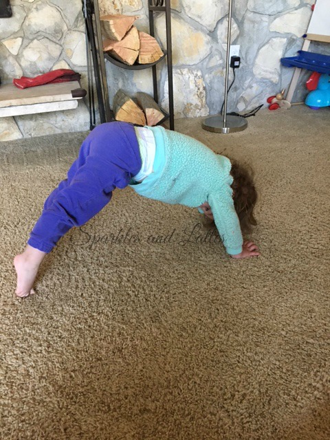 toddler and baby yoga