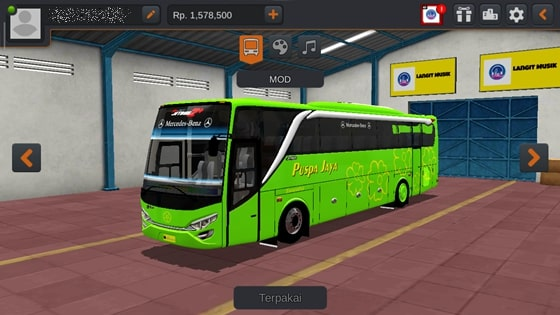 Livery JBHD2 New Setra MD Creation Puspa Jaya
