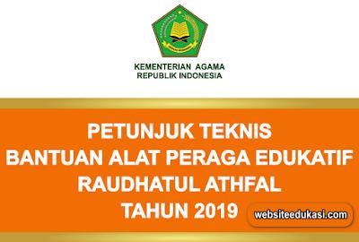Juknis Bantuan Alat Peraga Edukatif RA 2019
