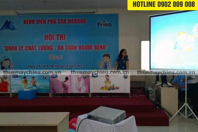 Dịch vụ cho thuê máy chiếu tổ chức hội thi tại TpHCM