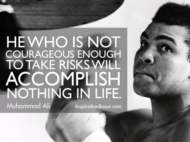 Muhammad Ali | Inspirational Quote | Boxing