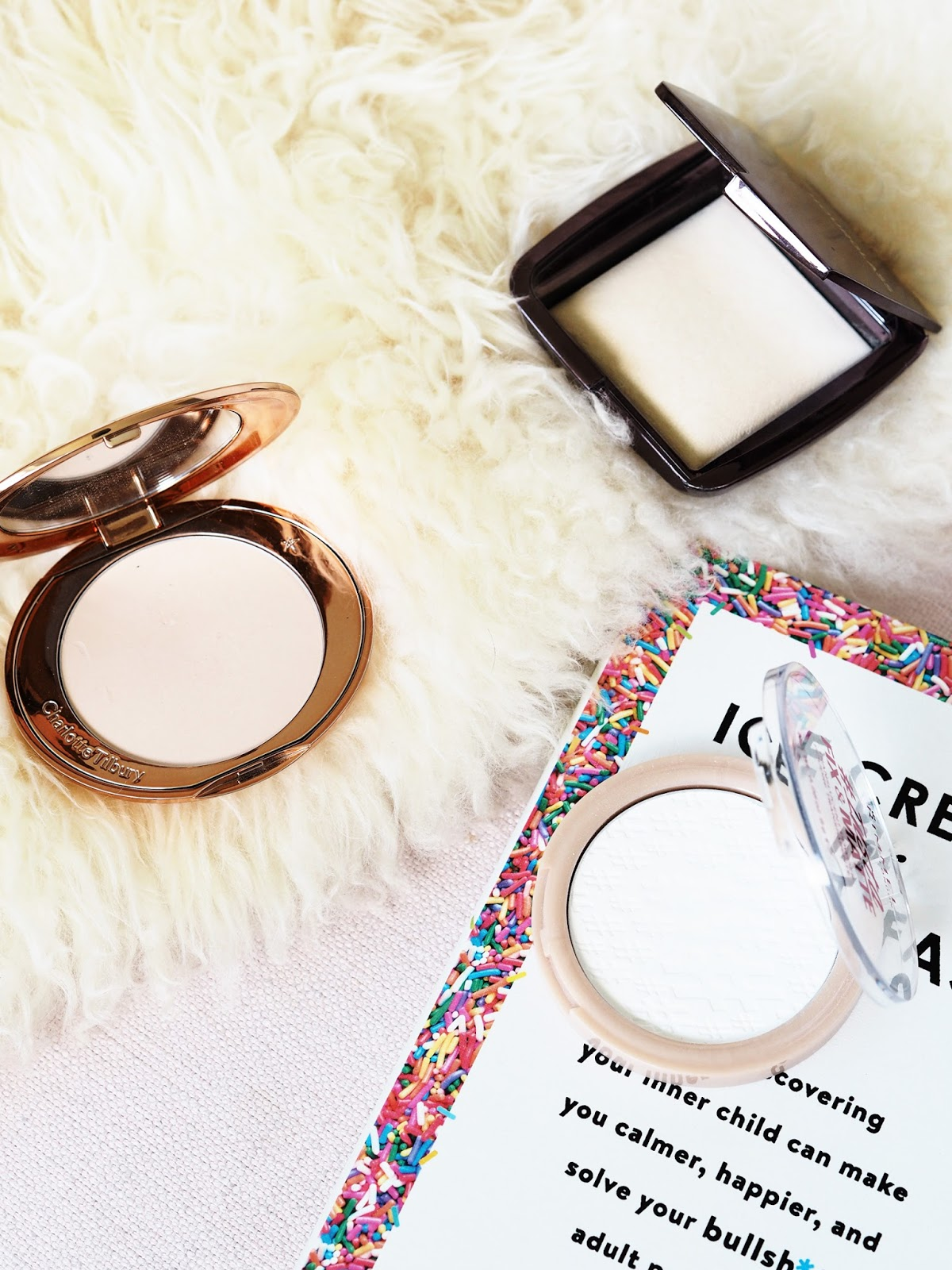Face powders for dry skin