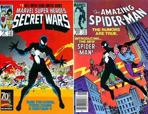 El simbionte Venom se unió por primera vez a Spiderman