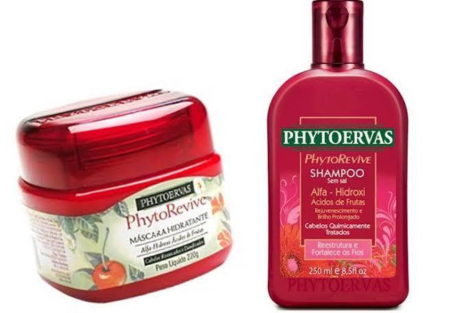 Shampoo e Máscara Phytoervas Phytorevive