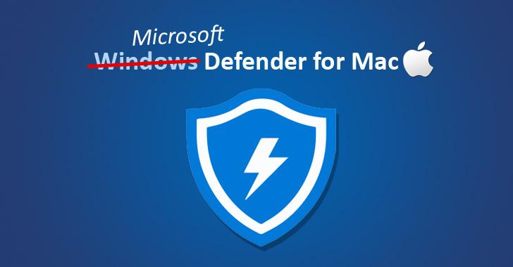 microsoft windows defender antivirus for macos