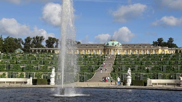 サンスーシ宮殿、ドイツ、観光