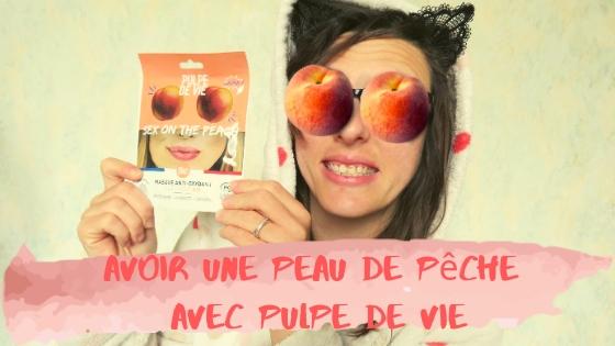 Sex on the Peach - Masque Anti-Oxydant à la Pêche Bio - Pulpe de Vie