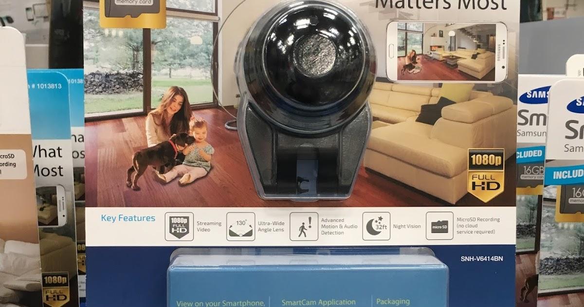Samsung Smartcam Hd Plus Home Monitoring Camera Snh