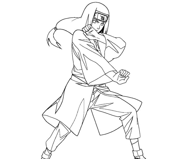 Neji Coloring Pages Gallery