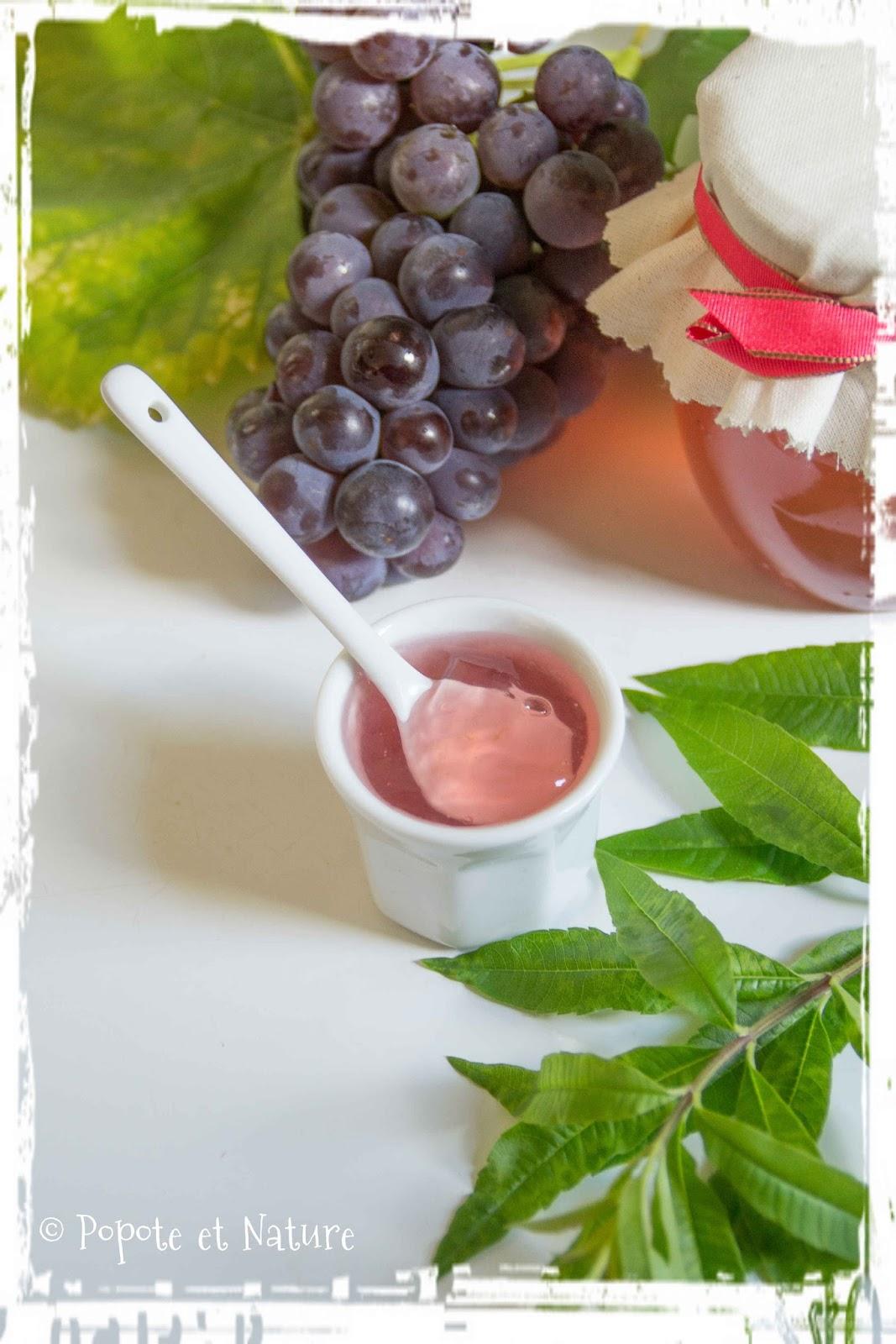 popote et nature confit de raisins du jardin la verveine citronnelle octobre rose compile. Black Bedroom Furniture Sets. Home Design Ideas