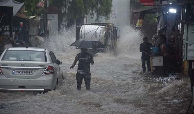 बनारस में बारिश का 43 साल का रिकार्ड टूटा, 404 मिलीमीटर दर्ज की गई बारिश