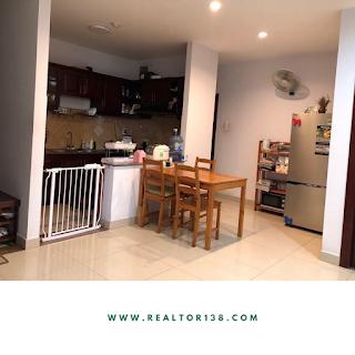 nhà bếp chung cư a view 2 phòng ngủ kdc greenlife 13c bình chánh