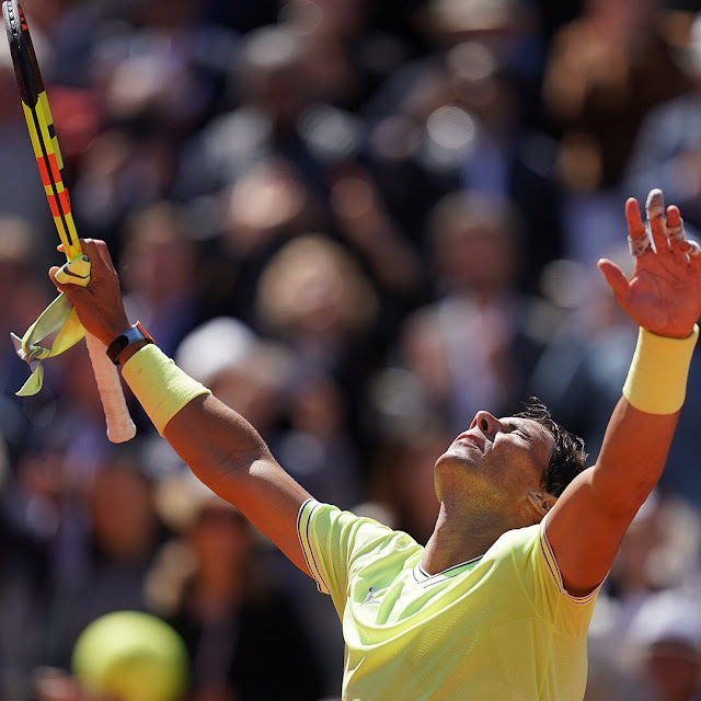 Tekuk Roger Federer, Rafael Nadal ke Final Prancis Terbuka