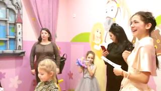 Детский день рождения для девочки  в замке