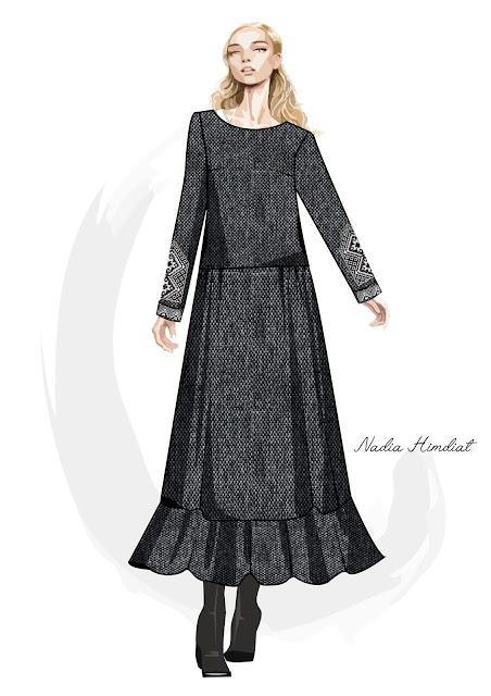 Платье. Модель PL-343