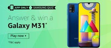 Samsung Galaxy M31 Quiz Answers