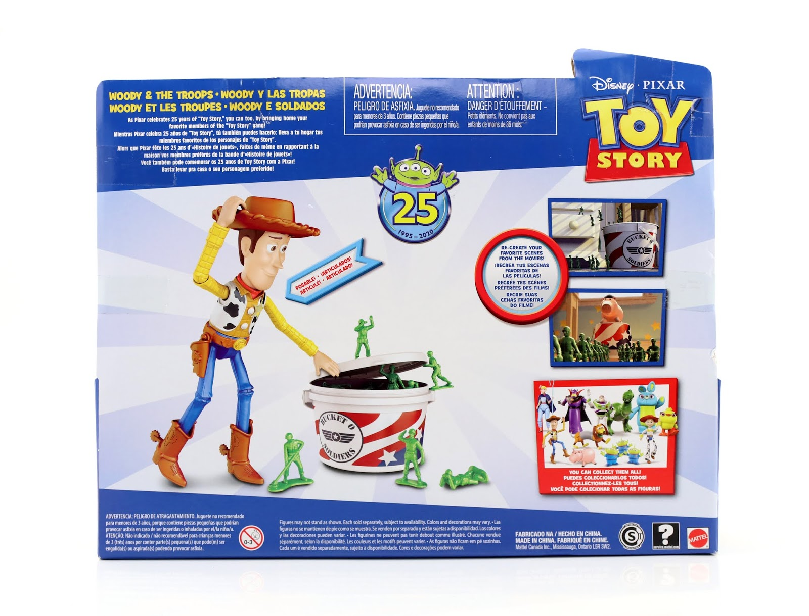 "Toy Story Woody & The Troops Multipack 7"" Scale Action Figure Collection by Mattel"