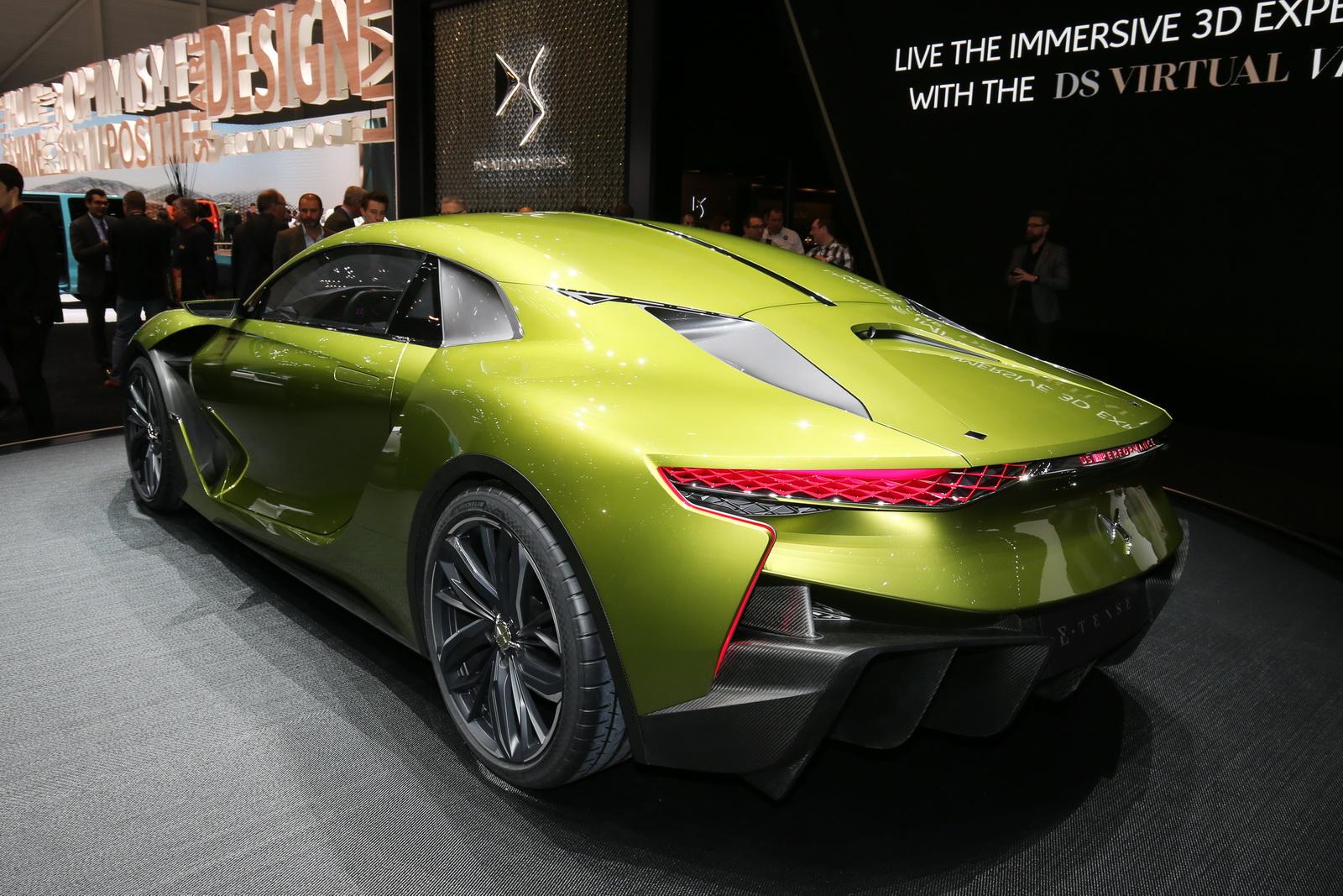 Quá nhiều điều mới lạ trong thiết kế của siêu xe DS E-Tense Concept 2017