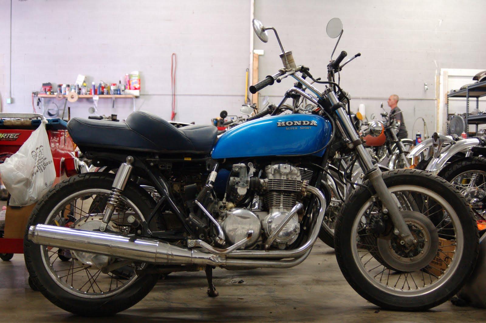 Vintage Honda CB
