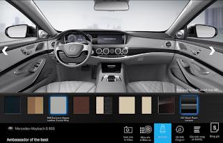 Nội thất Mercedes Maybach S600 2016 màu Xám Crystal (508)