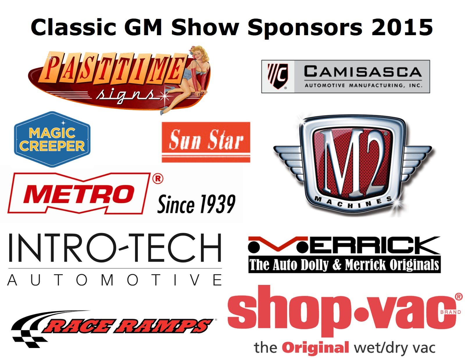 Covering Classic Cars  4th Annual Classic GM Car Show at California Car Cover