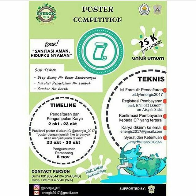 Lomba Poster Energic Competition 2017 | Umum