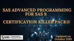 SAS certified Professional:The Certification KillerPack2019®