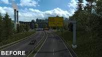 ets 2 realistic signs v1.1 screenshots 1