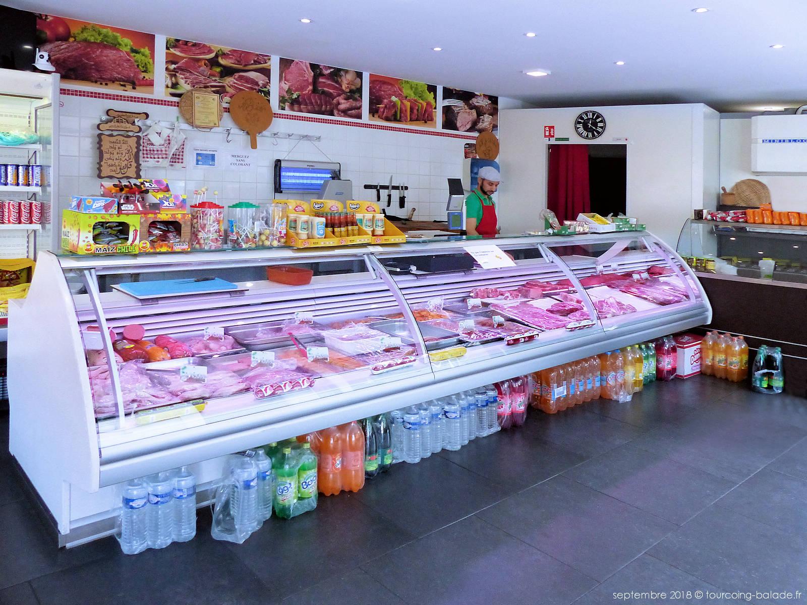 Boucherie Extra Tourcoing - Intérieur boutique