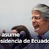 """Guillermo Lasso asume la Presidencia de Ecuador con la promesa de gobernar para todos: """"Se acabó la persecución política"""""""