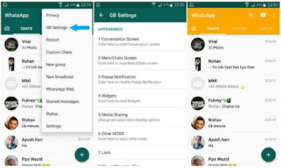Cara Merubah Tampilan WA Dengan GB WhatsApp Mod
