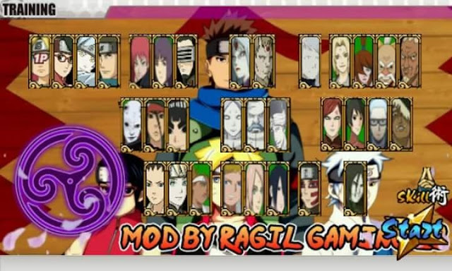 Download Naruto Senki MOD Boruto Battle Full Characters Apk Android Terbaru