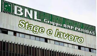 adessolavoro.com - BNL stage e lavoro
